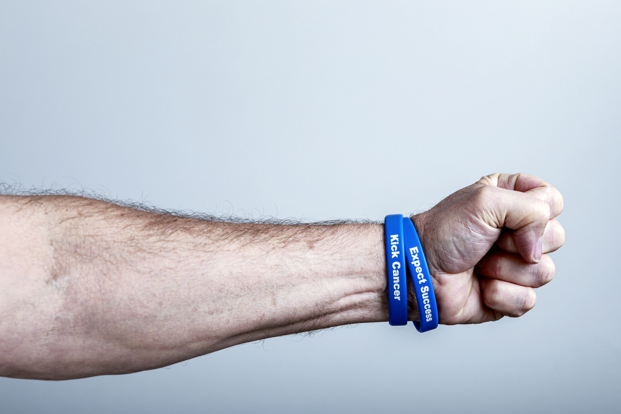 colorectal cancer awareness wristband